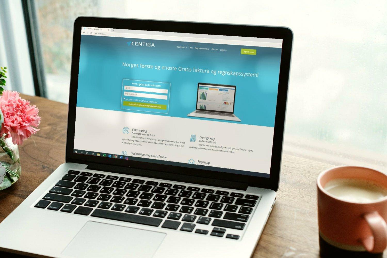 Norges første og eneste gratis fakturasystem og regnskapsprogram på nett. Fungerer på PC, mac, mobil og nett.