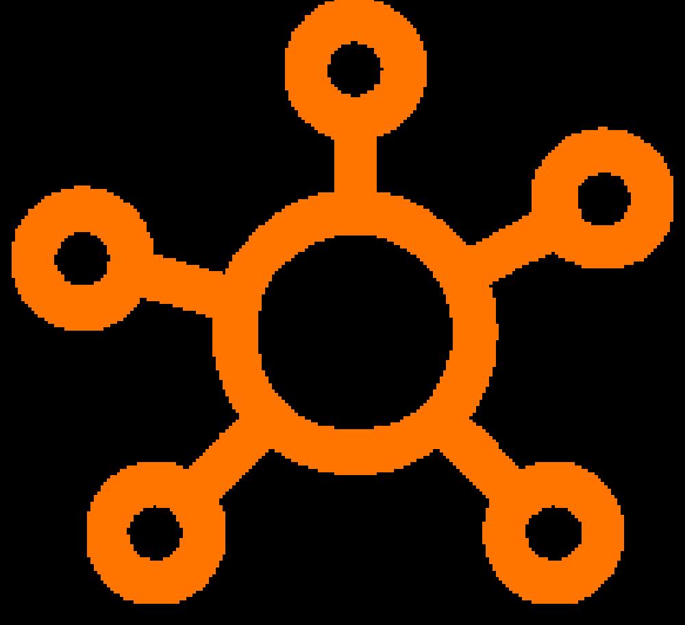 Illustrasjon som viser synkroniserte systemer.